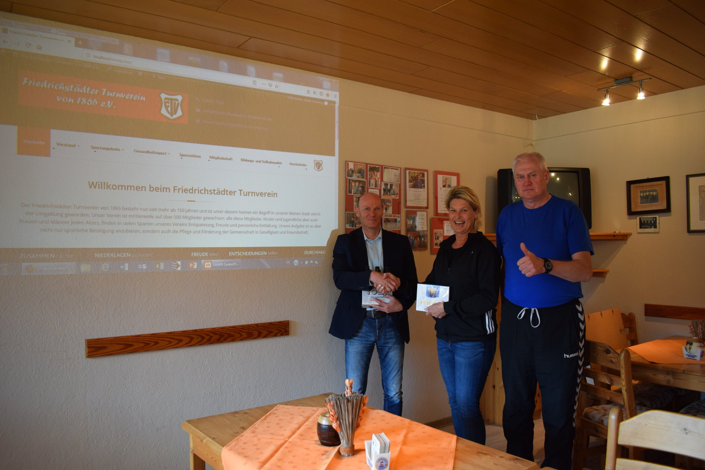 Der Friedrichstädter Turnverein hat eine neue Homepage